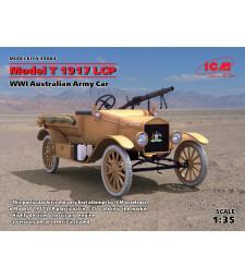 1:35 Австралийски военен автомобил Форд Модел Т ЛСП, 1917 (Australian Army Car Model T 1917 LCP, WWI)
