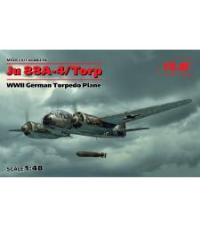 1:48 Германски торпеден бомбардировач Ю 88А-4 Торп/А-17, Втора световна война (Ju 88A-4 Torp/A-17, WWII German Torpedo Plane)
