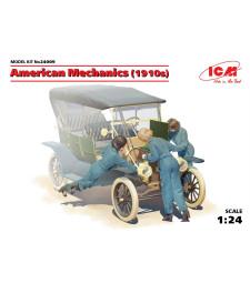 1:24 Американски механици (1910s) (3 фигури)