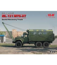 1:35 Съветски военен камион ЗиЛ-131 МТО-АТ (ZiL-131 MTO-AT, Soviet Recovery Truck)