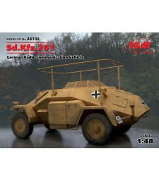 1:48 Германкси радиокомуникационен автомобил Sd.Kfz.261, German Radio Communication Vehicle