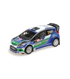 FORD FIESTA RS  WRC - FORD WORLD RALLY TEAM - LATVALA/ANTTILA - WINNER WALES RALLY GB 2012  L.E. 504 pcs.