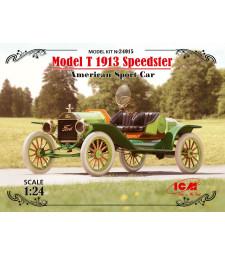 1:24 Американски състезателен автомобил Форд Модел Т 1913 Спийдстър (Model T 1913 Speedster, American Sport Car)