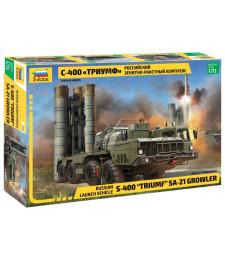 "1:72 Руски зенитно-ракетен комплекс S-400 ""TRIUMF"" MISSILE SYSTEM"