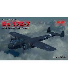 1:48 Германски нощен изтребител До 17З-7 (Do 17Z-7, WWII German Night Fighter)