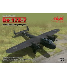 1:72 Германски нощен бомбардировач До-17З-7 (Do 17Z-7, WWII German Night Fighter)
