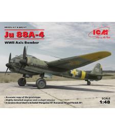 1:48 Германски бомбардировач Юнкерс Ю 88А-4 ( Ju 88A-4, WWII Axis Bomber)