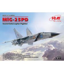 1:48 Съветски прехващач МиГ-25 ПД (MiG-25 PD, Soviet Interceptor Fighter)