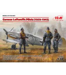 1:32 Немски пилоти на Луфтвафе (1939-1945) (3 фигури)