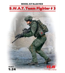 1:24 S.W.A.T. Team Fighter #3