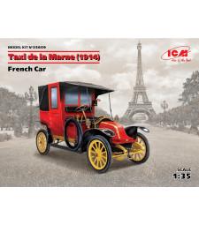 1:35 Френски автомобил Такси де ла Марн (1914) (Taxi de la Marne (1914), French Car (100% new molds))