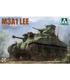 1:35 Американски среден танк M3A1 LEE 9US MEDIUM TANK M3A1 LEE)