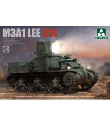 1:35 Американски среден танк M3A1 LEE (US MEDIUM TANK M3A1 LEE CDL)