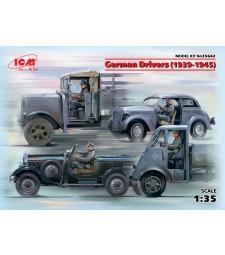 1:35 Германски шофьори (1939-1945) (4 фигури, без модели) (100% нови отливки)