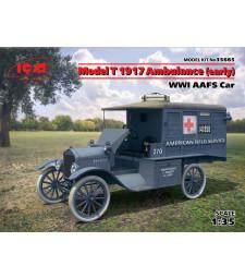 1:35 Военна линейка Модел T AAFS Car, 1917 (ранна)