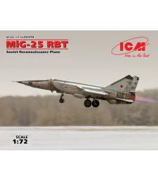 1:72 Съветски разузнавателен самолет Миг-25 РБТ (100% нова отливка)