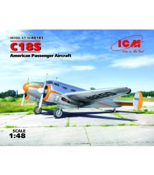 1:48 Американски пътнически самолет C18S