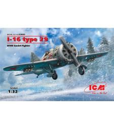 1:32 Съветски изтребител Поликарпов И-16 Тип 29