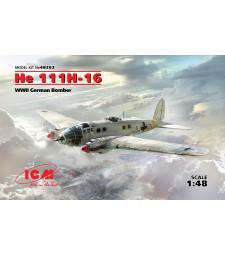 1:48 Германски бомбардировач He 111H-16