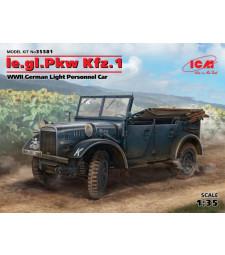 1:35 Германски лек военен автомобил le.gl.Pkw Kfz.1 (100% нова отливка)