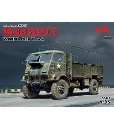 1:35 Британски камион Модел W.O.T. 6 (Model W.O.T. 6, WWII British Truck) (100% нови отливки)