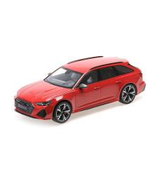 AUDI RS 6 AVANT - 2019 - RED METALLIC