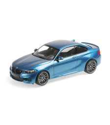 BMW M2 COMPETITION - 2019 - BLUE METALLIC