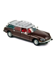 Citroen ID19 Break 1968 Dark red