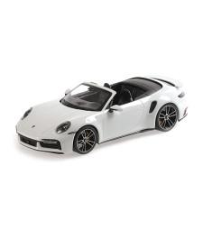 PORSCHE 911 (992)  TURBO S CABRIOLET - 2020 - WHITE METALLIC