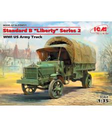 """1:35 Американски военен камион от Първата световна война Стандарт Б """"Либерти"""" (Standard B """"Liberty"""" Series 2, WWI US Army Truck)"""