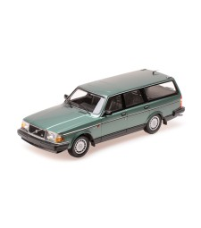VOLVO 240 GL BREAK - 1986 - GREEN METALLIC
