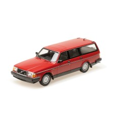 VOLVO 240 GL BREAK - 1986 - RED