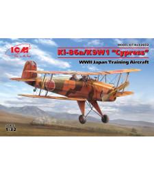 """1:32 Ki-86a / K9W1 """"Кипарис"""", Японски учебен самолет от Втората световна война"""
