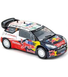 CITROEN DS3 WRC Rally Mexico'11 winner Loeb / Elena