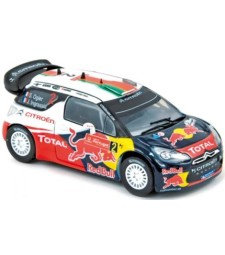 CITROEN DS3 WRC Rally Portugal'11 winner Ogier / Ingrassia
