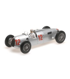 AUTO UNION TYP C - HANS STUCK - BUDAPEST GRAND PRIX 1936