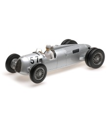 AUTO UNION TYP C - HANS STUCK - WINNER SHELSLEY WALSH HILLCLIMB 1936