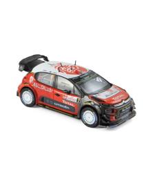 Citroen C3 WRC N°7 - A.Mikkelsen/A.Jaeger - Pologne 2017