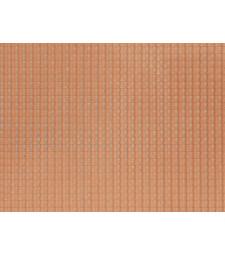 Керемиди, червени (28 x 10 cm) - 3D гъвкаво фолио