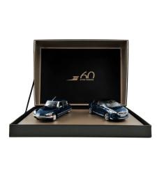 """Coffret """"60 ans de la DS"""" - 2 miniatures - Edition Limitée"""