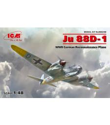 1:48 Германски самолет от Втората световна война Ю 88Д-1 (Ju 88D-1, WWII German Reconnaissance Plane)