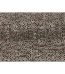 Каменна стена (28 x 10 cm) - 3D гъвкаво фолио