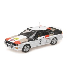 AUDI QUATTRO - AUDI SPORT - MIKKOLA/HERTZ - WINNERS INTERNATIONAL SWEDISH RALLY 1981