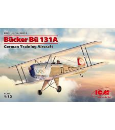 1:32 Германски тренировъчен самолет Bucker Bu 131A, German Training Aircraft