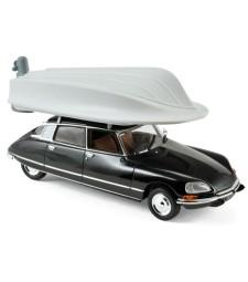 CITROEN - DS23 PALLAS 1972 - WITH BOAT ON ROOF