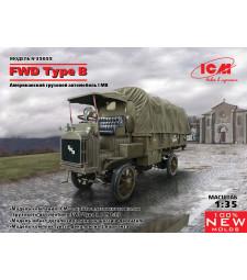 1:35 Военен камион FWD Тип Б, Първа световна война, армия на САЩ (FWD Type B, WWI US Army Truck)