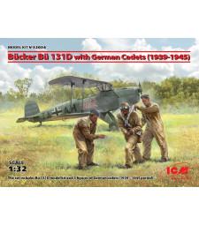 1:32 Самолет Bucker Bu 131D с немски кадети (1939-1945)
