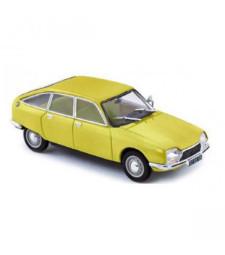 Citroen GS 1971 Primevere Yellow