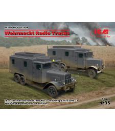 1:35 Радио камион на Wehrmacht (Henschel 33D1 Kfz.72, Krupp L3H163 Kfz.72)