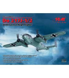 1:48 Германски нощен изтребител Do 217J-1/2, от Втората Световна война